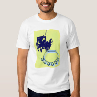 Sleigh Bells With Amish Buggy Musical Graphic T Shirt