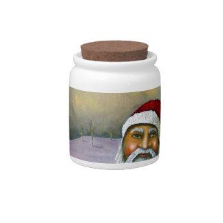 Sleigh Jacker Candy Jar