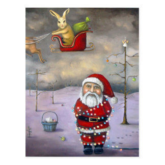 Sleigh Jacker Post Card