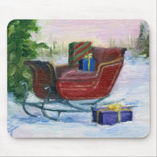Sleigh Mouse Pad