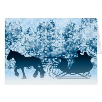 Sleigh Ride Card