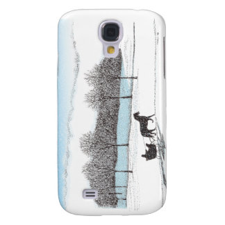 Sleigh Ride Galaxy S4 Covers