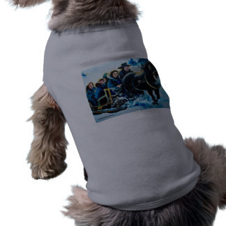 Sleigh Ride Dog Tee Shirt