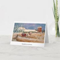 Sleigh Ride Holiday Card