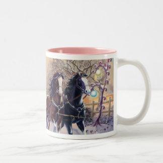 Sleigh Ride Mugs