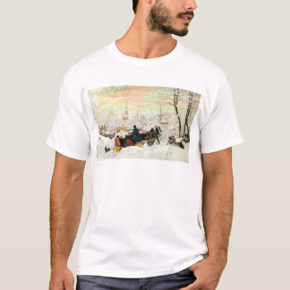 Sleigh Ride Painting T-Shirt