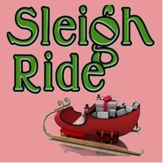 Sleigh Ride Standing Photo Sculpture