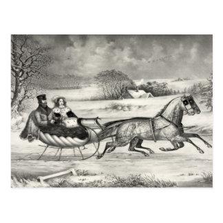 Sleigh Ride postcards