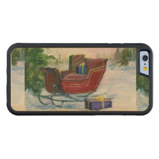 Sleigh Carved® Maple iPhone 6 Bumper Case