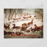 Sleighing Business Christmas Card