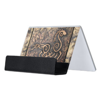 Sleipnir Desk Business Card Holder
