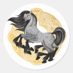 Sleipnir Round Sticker