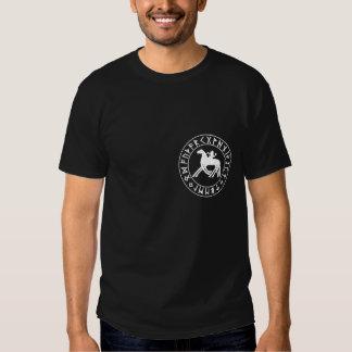 Sleipnir Shield on Blk Shirt