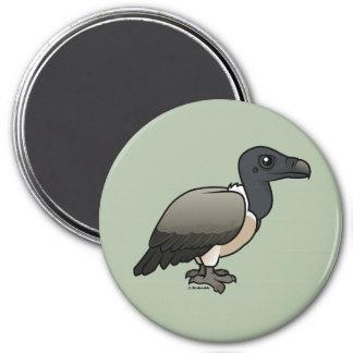 Slender-billed Vulture 3 Inch Round Magnet