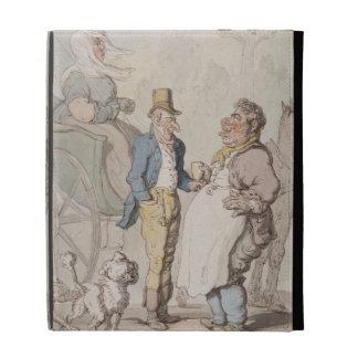 Slender Billy, Travellers taking refreshment (w/c iPad Folio Case