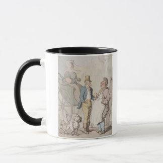 Slender Billy, Travellers taking refreshment (w/c Mug