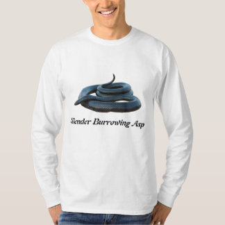 Slender Burrowing Asp Basic Long Sleeve T-Shirt