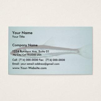 Slender Chub Business Card