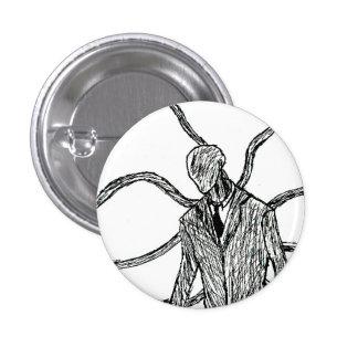 Slender-Creep Pinback Button