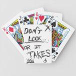 Slender: Dont Look Black on White Card Deck