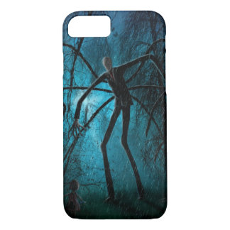 Slender Man and the Lost Soul iPhone 8/7 Case