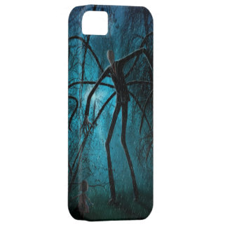 Slender Man and the Lost Soul iPhone SE/5/5s Case
