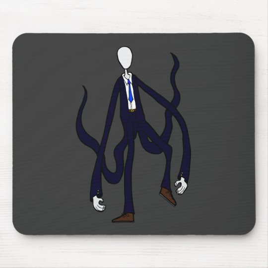 Slender Man - Book of Monsters Halloween Mouse Pad