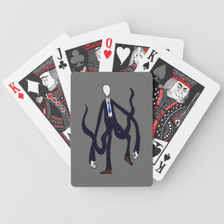 Slender Man - Book of Monsters Halloween Bicycle Playing Cards