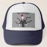Slender Man Christmas Cap
