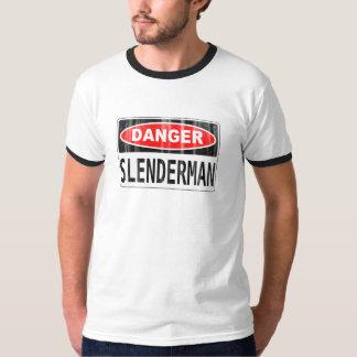Slender Man Danger Signboard Dresses