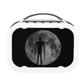 Slender Man-in the-moon Lunchbox