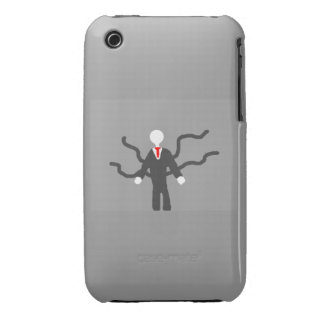 Slender Man iphone 4 cace iPhone 3 Covers