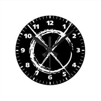 Slender Man Round Clock