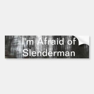 Slenderman Forest Car Bumper Sticker