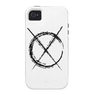 Slenderman iPhone 4 Carcasas