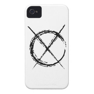 Slenderman iPhone 4 Case-Mate Protectores