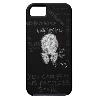 "Slenderman ""Insane Scribble"" iPhone 5 Case"