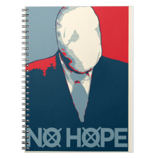 Slenderman: Ninguna esperanza Spiral Notebook