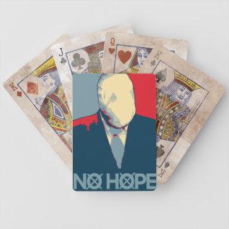 Slenderman: No Hope Bicycle Playing Cards