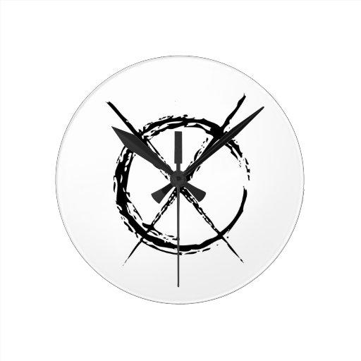 Slenderman Reloj De Pared