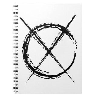 Slenderman Spiral Note Book