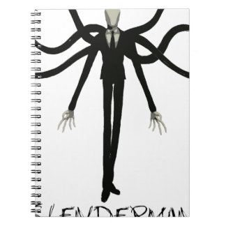 Slenderman Spiral Notebook