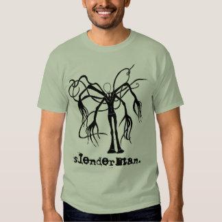 slenderman. tee shirt