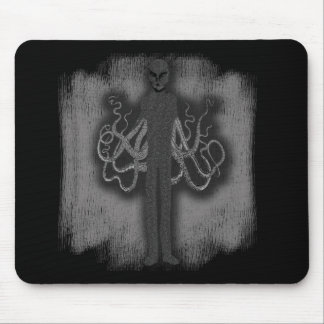 SlenderMan with Tentacles Mousepad