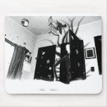 Slenderman's closet mousepad
