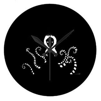 Slenderwoman Reloj Redondo Grande