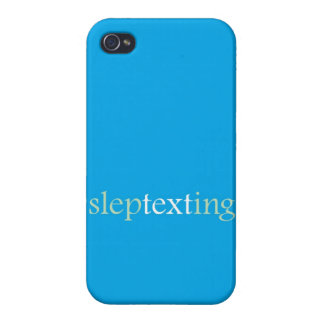 """Sleptexting "" iPhone 4 Carcasa"