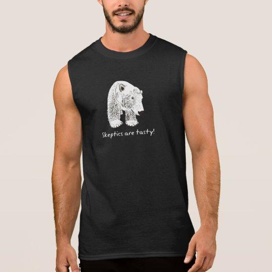 Sleptics are tasty! sleeveless shirt