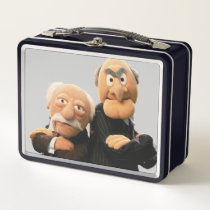 Sler And Waldorf Arms Crossed Metal Lunch Box
