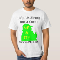 Sleuth out a CURE T-Shirt